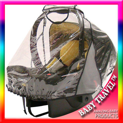 Raincover To Fit Chicco Autofix Infant Carseat