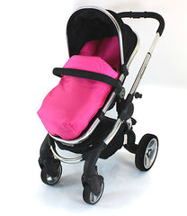 Cosy Toes With Pouches Stroller Liner For iCandy Peach Pear Apple Pram (lite) - Baby Travel UK  - 3