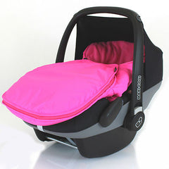 Universal Car Seat Footmuff Cosy Toes Maxi Cosi Pebble & Cabrio Fix 4 X Colours - Baby Travel UK  - 8