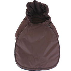 Footmuff Hot Chocolate Brown Fits Car Seat Mode On Bugaboo Bee Camelon - Baby Travel UK  - 2