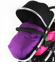 Cosy Toes With Pouches Stroller Liner For iCandy Peach Pear Apple Pram (lite) - Baby Travel UK  - 6