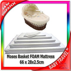 New Baby Travel Mattress Spring Foam For Cot Cotbed Swinging Crib Moses Basket - Baby Travel UK  - 14