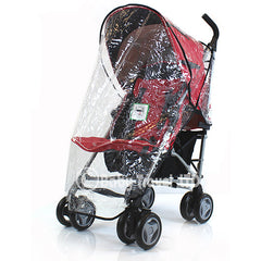 Raincover Throw Over For Uppababy G-luxe Stroller Buggy Rain Cover - Baby Travel UK  - 1