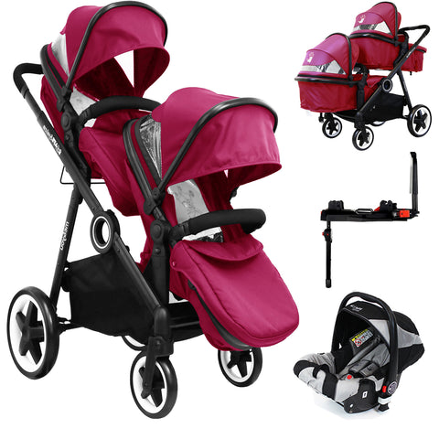 ISafe Me&You INLINE - SIENNA - With Second Seat, Car Seat & Isofix Base