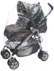 Raincover For Pliko Stroller Pushchair - Baby Travel UK  - 4