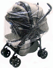 Raincover For Pliko Stroller Pushchair - Baby Travel UK  - 1