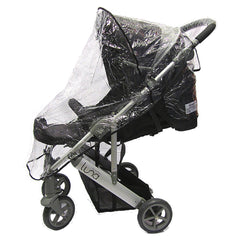 Raincover Rain Cover Fit Alvema Ito With Hood Special Needs Stroller Buggy - Baby Travel UK  - 3