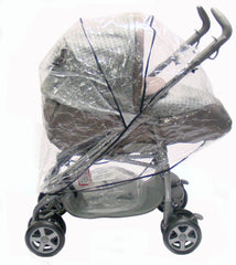New Sale Rain Cover For Peg Perego Pliko Pramette - Baby Travel UK  - 2