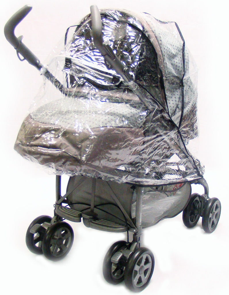 Raincover For Pliko Pramette System And Mamas And Papas Pliko - Baby Travel UK  - 1