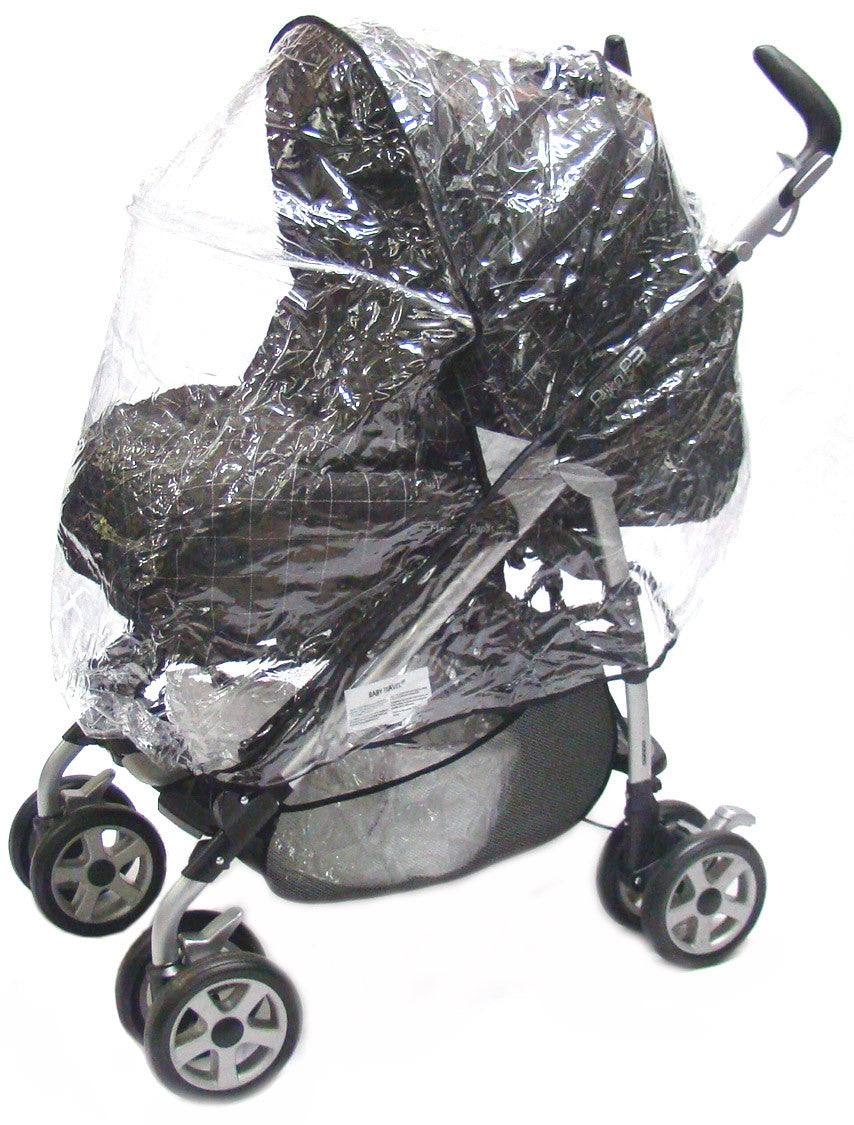 ABC Lebruss Zoom 2in1 Pushchair//Carrycot Raincover Professional Heavy Duty Rain Cover