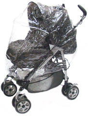 New Sale Rain Cover For Peg Perego Pliko Pramette - Baby Travel UK  - 4