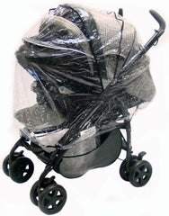 Baby Travel Rain Cover To Fit The Mamas And Papas Pliko Travel System - Baby Travel UK  - 1