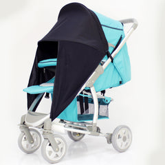 Sunny Sail Universal Quinny Zapp Buggy Pram Stroller Shade Parasol Substitute - Baby Travel UK  - 7
