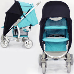 Sunny Sail Universal Quinny Zapp Buggy Pram Stroller Shade Parasol Substitute - Baby Travel UK  - 8