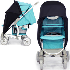 Sunny Sail Universal Pushchair Buggy Pram Stroller Shade Parasol Substitute - Baby Travel UK  - 7