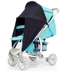 Baby Travel Sunny Sail Fits Silver Cross Freeway Pop Sleepover 3d Pram System - Baby Travel UK  - 8