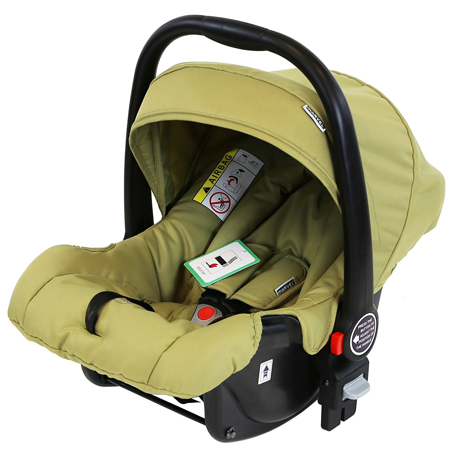 Marvel 0 Infant Car Seat Olive Pearl Compatible With 3 In 1 Pram System