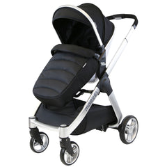 Marvel 3in1 Pram - Black Pearl Pram Travel System (+ Luxury Carrycot + Car Seat) - Baby Travel UK  - 2