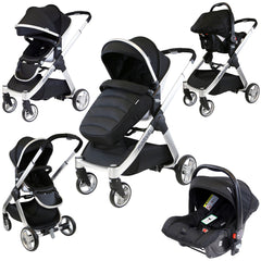 iSafe Marvel 2in1 Pram - Travel System (With Car Seat) - Baby Travel UK  - 3