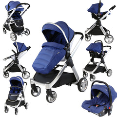 iSafe Marvel 2in1 Pram - Travel System (With Car Seat) - Baby Travel UK  - 5