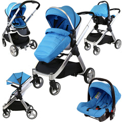 iSafe Marvel 2in1 Pram - Travel System (With Car Seat) - Baby Travel UK  - 7
