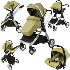 iSafe Marvel 2in1 Pram - Travel System (With Car Seat) - Baby Travel UK  - 2