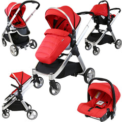 iSafe Marvel 2in1 Pram - Travel System (With Car Seat) - Baby Travel UK  - 4