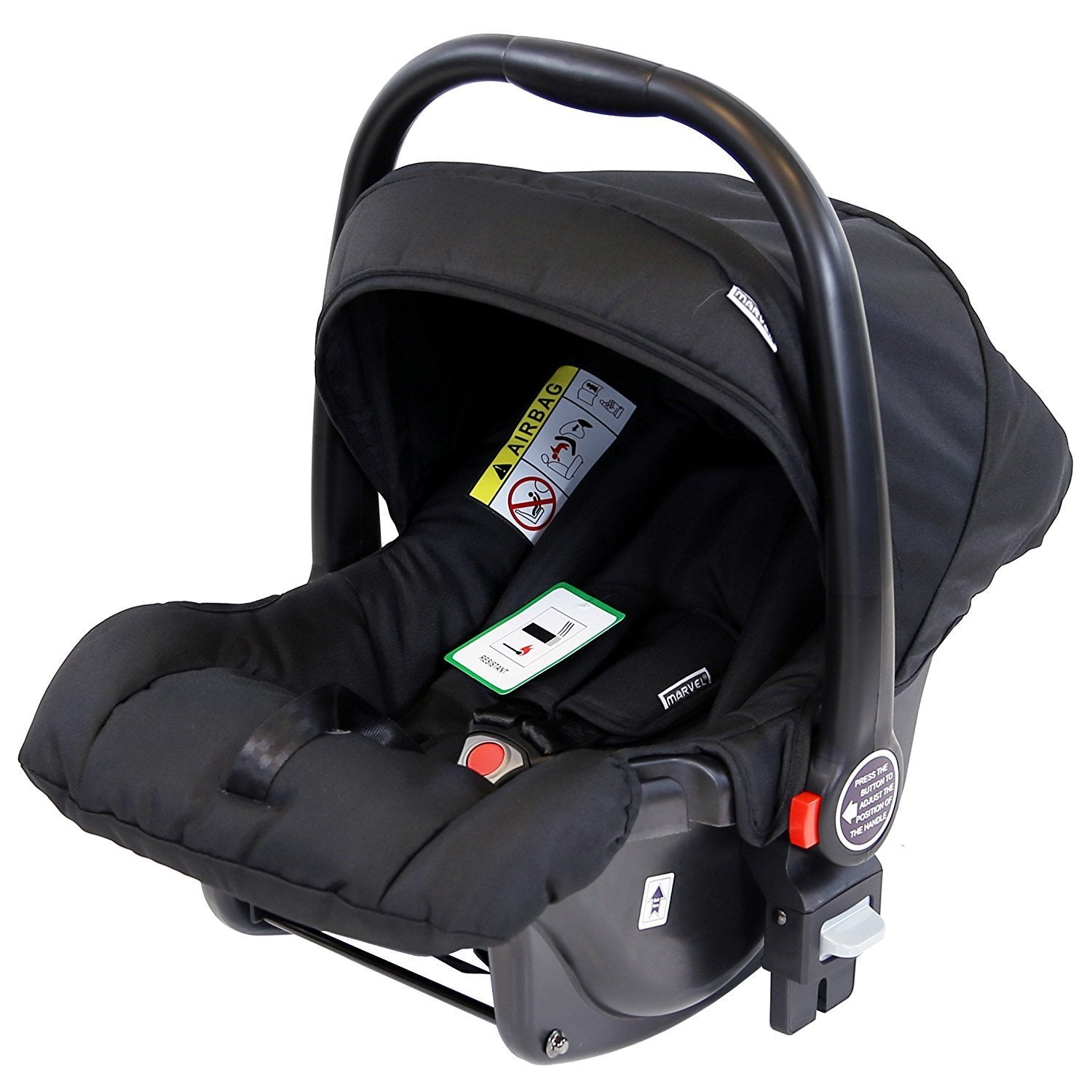 Marvel 0 Infant Car Seat Black Pearl Compatible With 3 In 1 Pram System