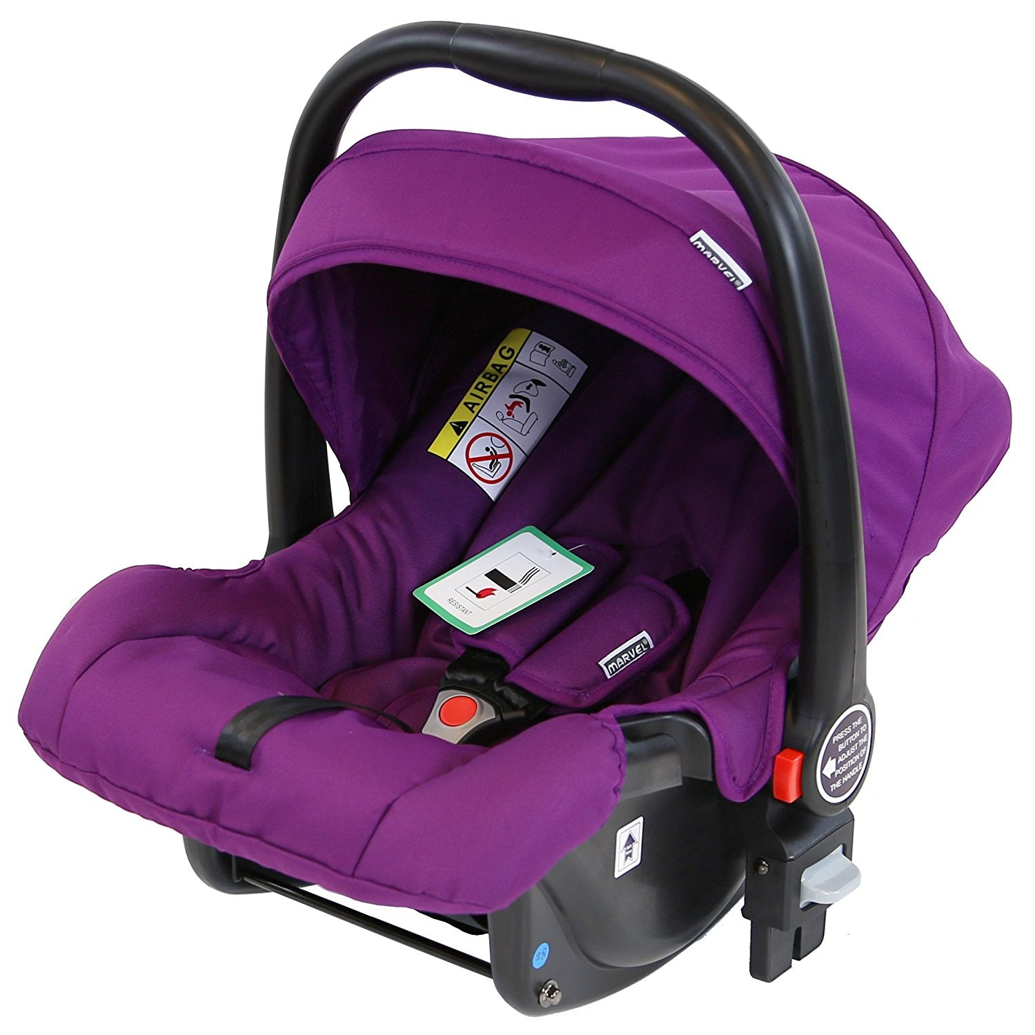 Marvel 0 Infant Car Seat Plum Pearl Compatible With 3 In 1 Pram System