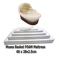 Baby Travel Mattress Spring Foam for Cot CotBed Swinging Crib Moses Basket - Baby Travel UK  - 6