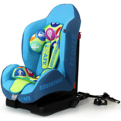 NEW iSafe iSOFIX Comfy Padded CARSEAT GROUP 1 - 9months - 4 years - Adventurer - Baby Travel UK  - 2