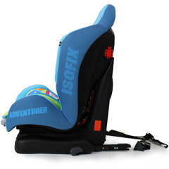 NEW iSafe iSOFIX Comfy Padded CARSEAT GROUP 1 - 9months - 4 years - Adventurer - Baby Travel UK  - 3