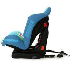 NEW iSafe iSOFIX Comfy Padded CARSEAT GROUP 1 - 9months - 4 years - Adventurer - Baby Travel UK  - 4