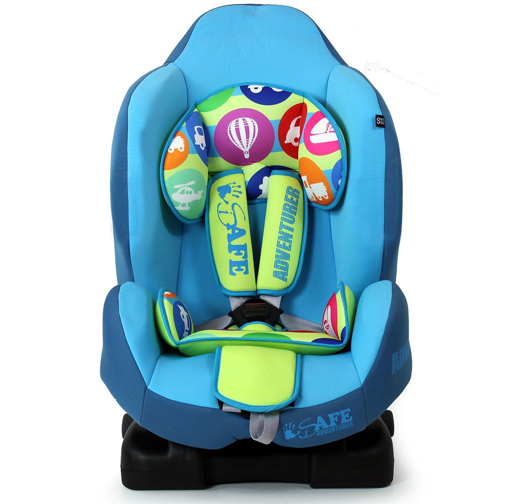 NEW iSafe iSOFIX Comfy Padded CARSEAT GROUP 1 - 9months - 4 years - Adventurer - Baby Travel UK  - 1