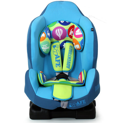 iSafe Multi Recline Isofix Car Seat Carseat Adventurer Group 1 9mths- 4yrs