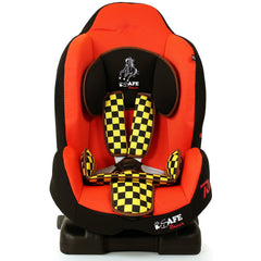 NEW iSafe iSOFIX Comfy Padded CARSEAT GROUP 1 - 9months - 4 years - Racer - Baby Travel UK  - 2