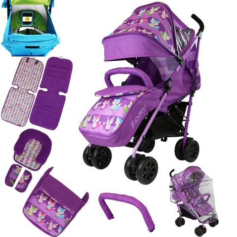 iSafe OPTIMUM Stroller FOXY Design