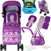 New 2017 iSafe - OPTIMUM Stroller - FOXY Complete With Changing Bag Design The Best Stroller In The World!