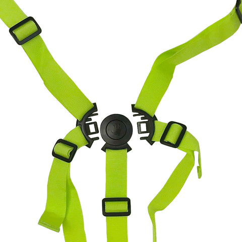 Five Point Harness - Lime (For OPTIMUM Stroller) Universal*