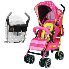 iSafe OPTIMUM Stroller Mea LUX Design + Parent Console