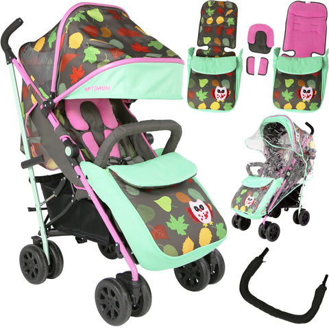 iSafe OPTIMUM Stroller Owl & Button