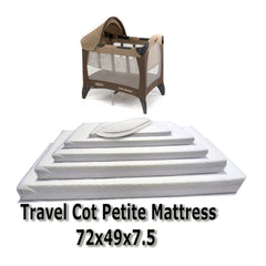 Baby Travel Mattress Spring Foam for Cot CotBed Swinging Crib Moses Basket - Baby Travel UK  - 7