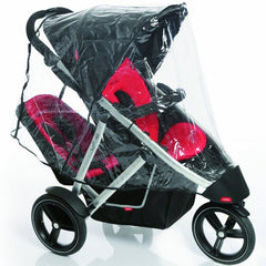 Rain Cover To Fit Phil & Teds Vibe Double Pushchair