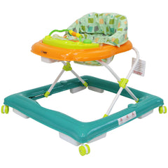 iSafe Play Time Baby Walker - Green/Orange