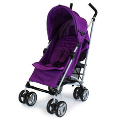 New Zeta Vooom Plum With Mc Large Padded Footmuff Liner Stroller Pushchair - Baby Travel UK  - 3