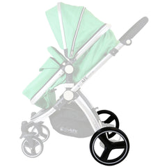Puncture Free iSafe Pram System Set Of Rear Wheels - Baby Travel UK  - 5