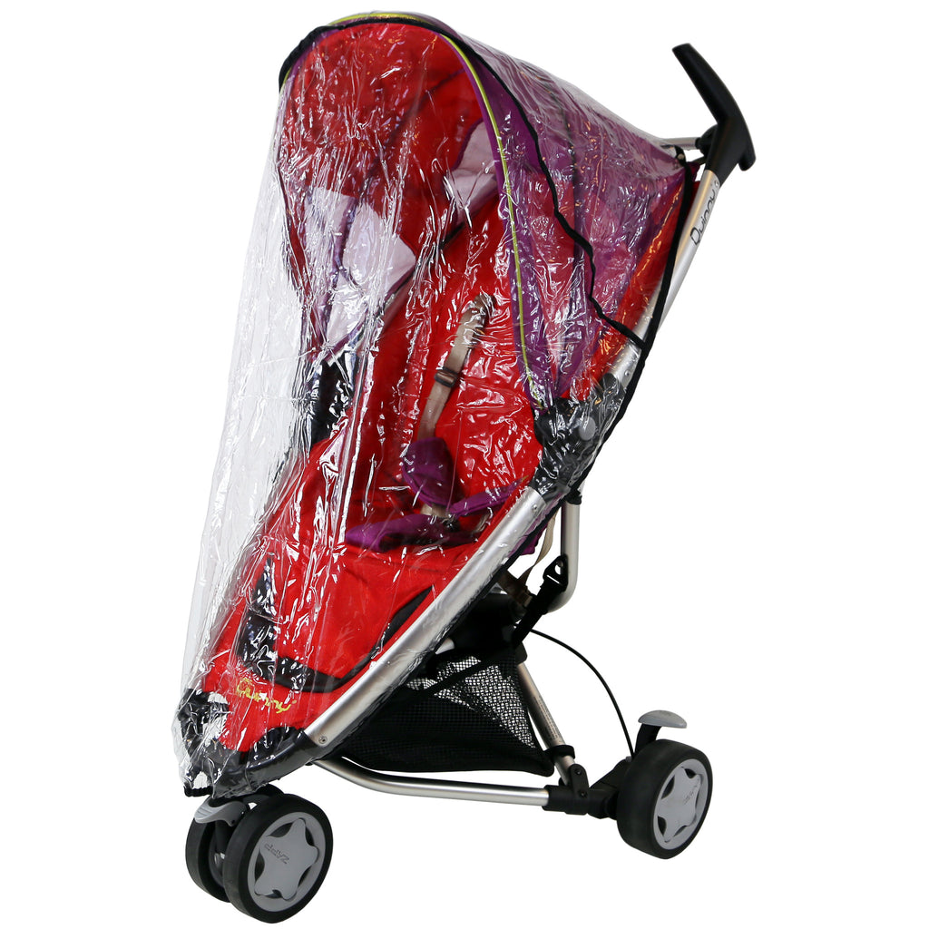 Quinny Zapp Rain Cover Heavy Duty Design Rain And Wind Protector - Baby Travel UK  - 1