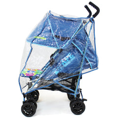 iSafe buggy Stroller Pushchair - Adventurer (Complete With Footmuff, Bumper Bar & Rain cover) - Baby Travel UK  - 7