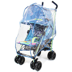 iSafe buggy Stroller Pushchair - Adventurer (Complete With Footmuff, Bumper Bar & Rain cover) - Baby Travel UK  - 8