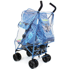 iSafe buggy Stroller Pushchair - Adventurer (Complete With Footmuff, Bumper Bar & Rain cover) - Baby Travel UK  - 9